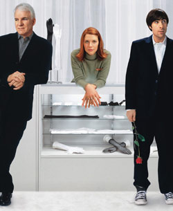 Steve Martin und Claire Danes in Shopgirl